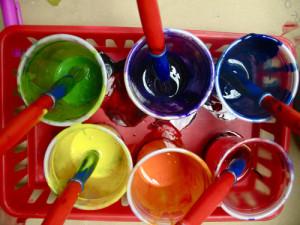 Rainbow-paints
